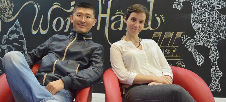Fernando Tangi e Samira Almeida, fundadores do Storymax - Crédito: Divulgação