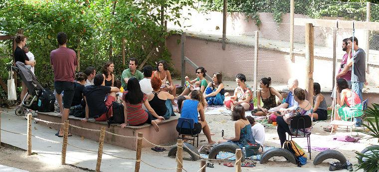 Educadores participam de sessão de formação da Rede Gaia Escola