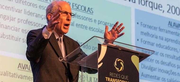 """James Liebman no evento """"Redes que Transformam"""""""