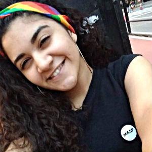 Yasmin de Souza Oliveira, estudante de ensino médio
