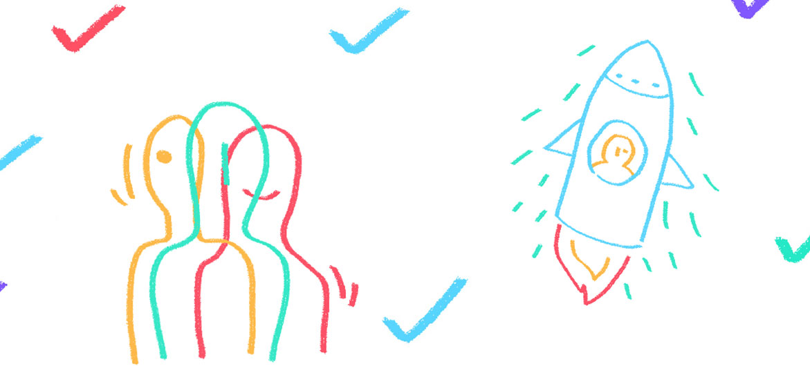 Ilustração Escolha Transformar