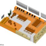 Projeto de estudioteca de escolas de Santos (SP)