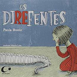 Capa Os direfentes, por Paula Bossio
