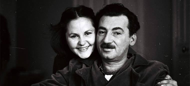 Zélia Gattai e Jorge Amado
