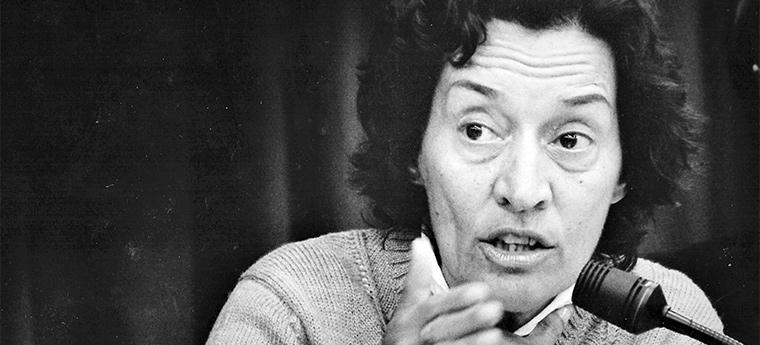 A economista Maria Conceição Tavares