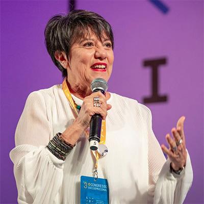 Lourdes Atié, socióloga e educadora