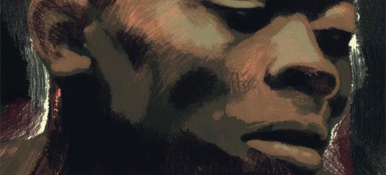 Ilustração de homem negro