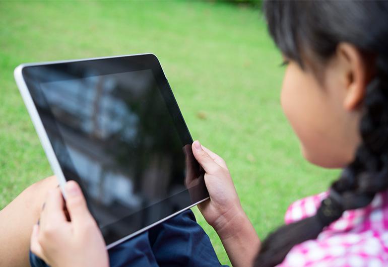Ilustração do post Com livros digitais, bibliotecária leva a experiência de clube de leitura para aulas remotas