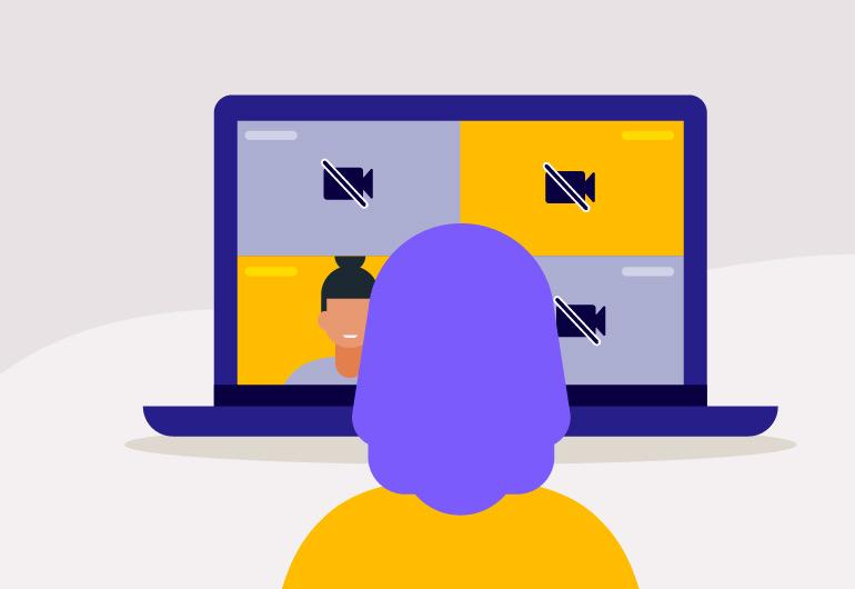 Ilustração do post 6 motivos pelos quais seus alunos não abrem as câmeras