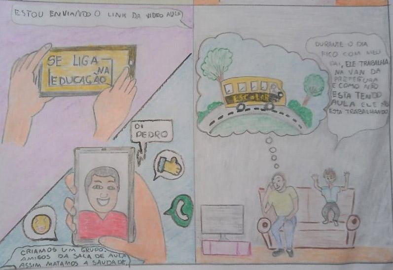 Ilustração do post Professora publica jornal online com alunos do ensino fundamental 1 durante a quarentena
