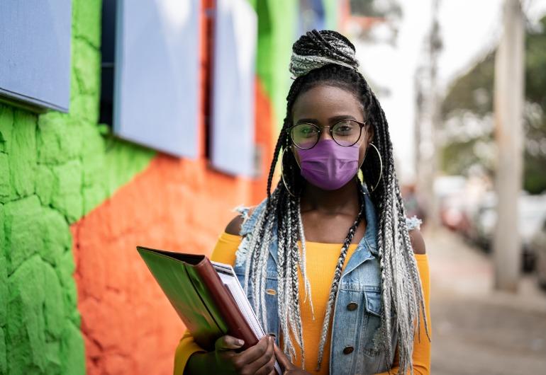 Ilustração do post Porvir apoia Conjuve em nova pesquisa para ouvir jovens sobre a pandemia