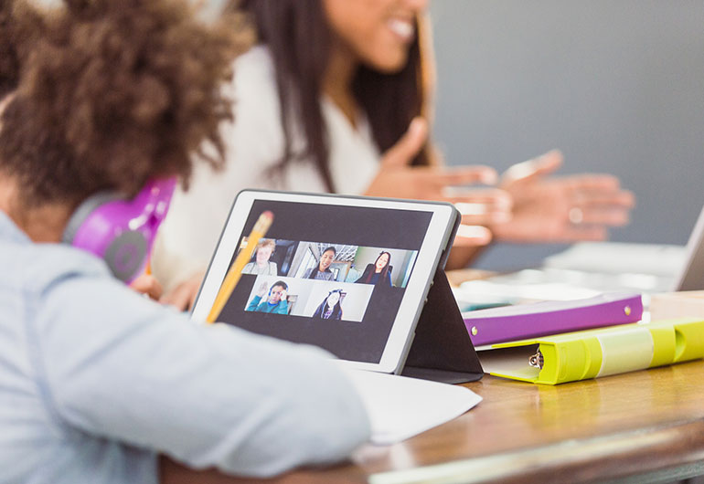Ilustração do post Trabalho em grupo online requer avaliação diagnóstica para conhecer aluno