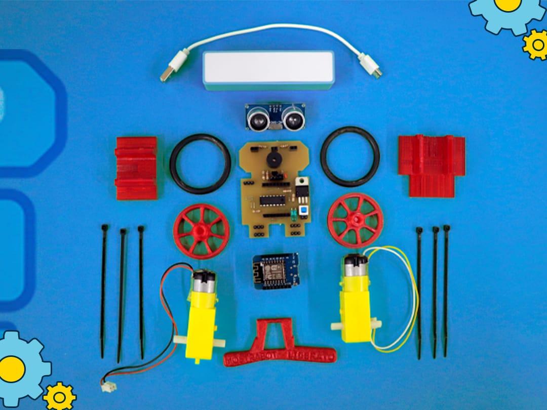 Ilustração do post Robótica a distância mantém alunos motivados durante aulas remotas