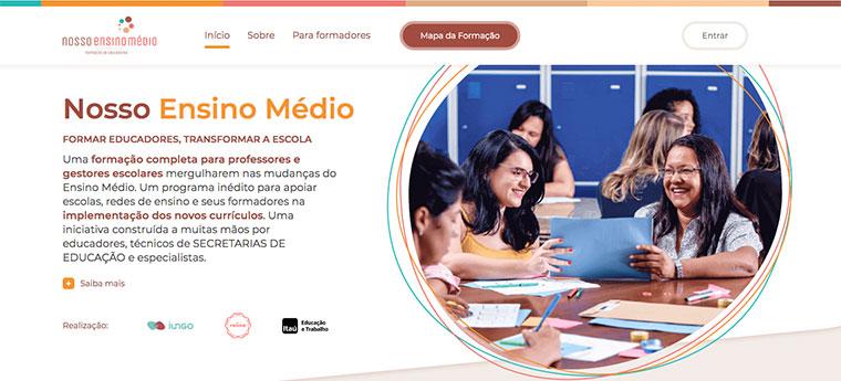 Ilustração do post Porvir apoia desenvolvimento da plataforma Nosso Ensino Médio