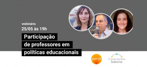 Webinário Porvir / Conectando Saberes