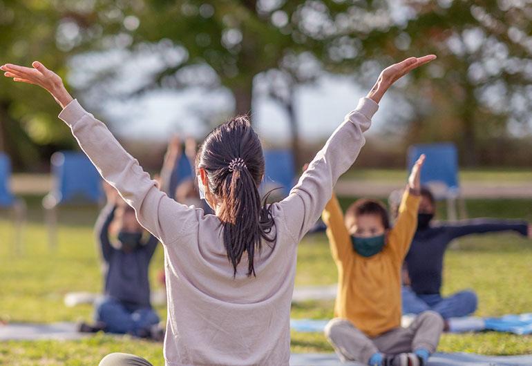 Ilustração do post Vivência ao ar livre na retomada das aulas também é questão de saúde
