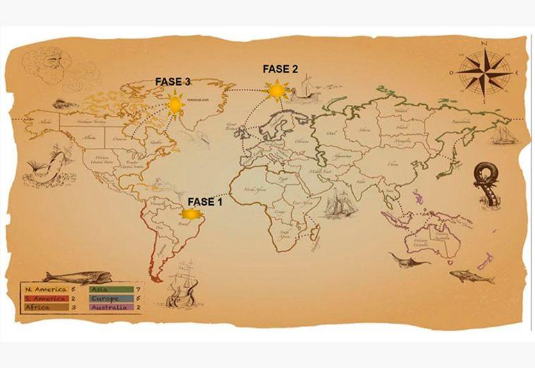 Ilustração do post Professora cria mapa gamificado para ensinar uso correto de parágrafos
