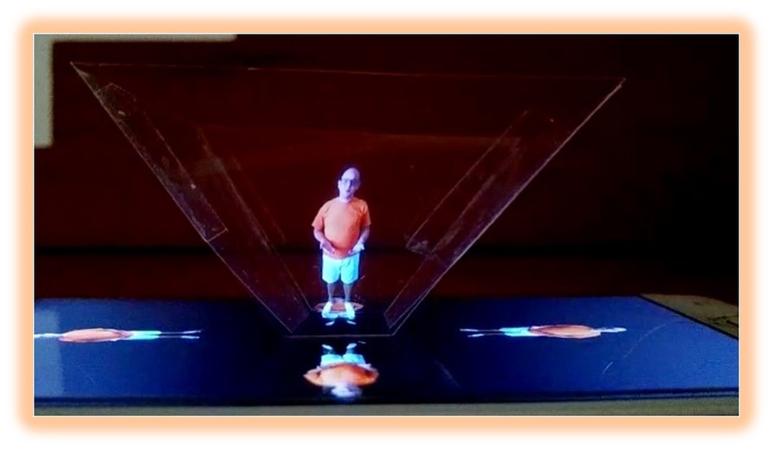 Hologramas em tamanho real reduzem a distância entre professor e estudantes